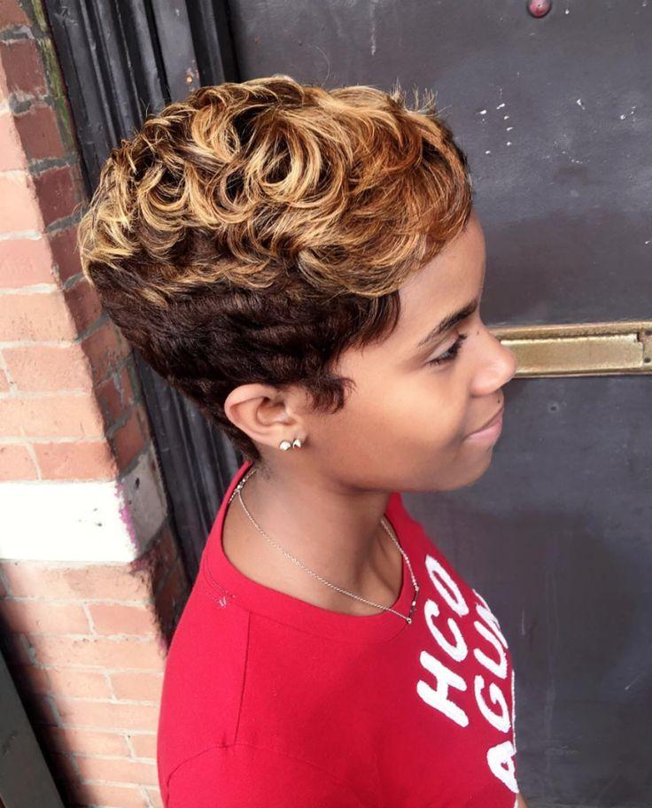 Short Haircuts: So cute! styled via @artistry4gg - community ...