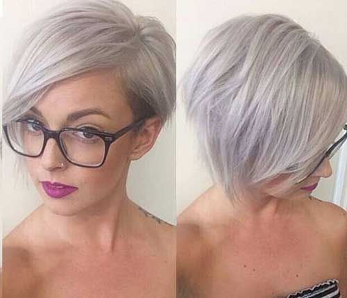 14 Short Hairstyles For Gray Hair | Latest Bob Hairstyles