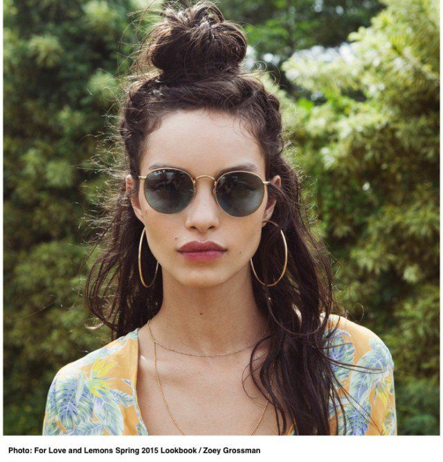 17 Trendy Half Bun Hairstyles for 2016   Latest Bob Hairstyles   Page 3
