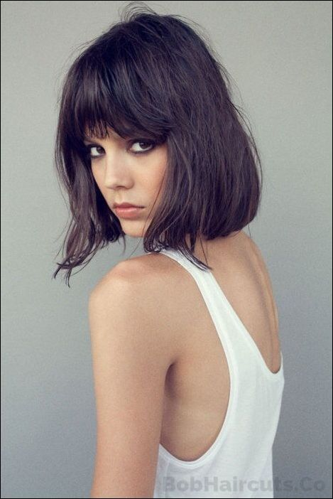 Katie Holmes Long Bob Hairstyle