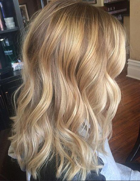 Long bob hairstyle