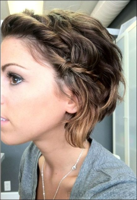 Messy Hairstyles with Braid | PoPular Haircuts
