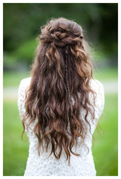 Wedding Half up Half down Braid
