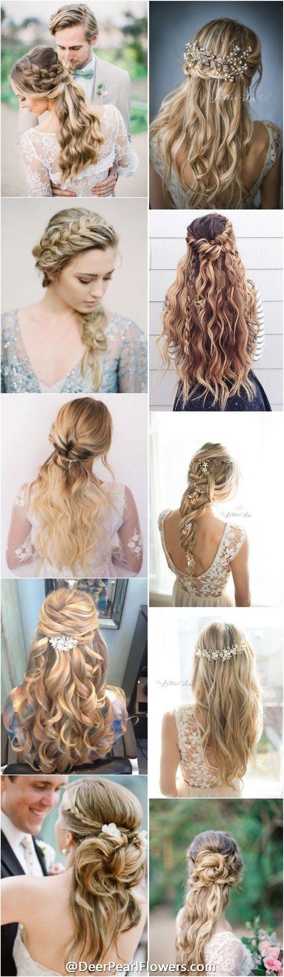 1000+ wedding hairstyles for long hair / deerpearlflowers....