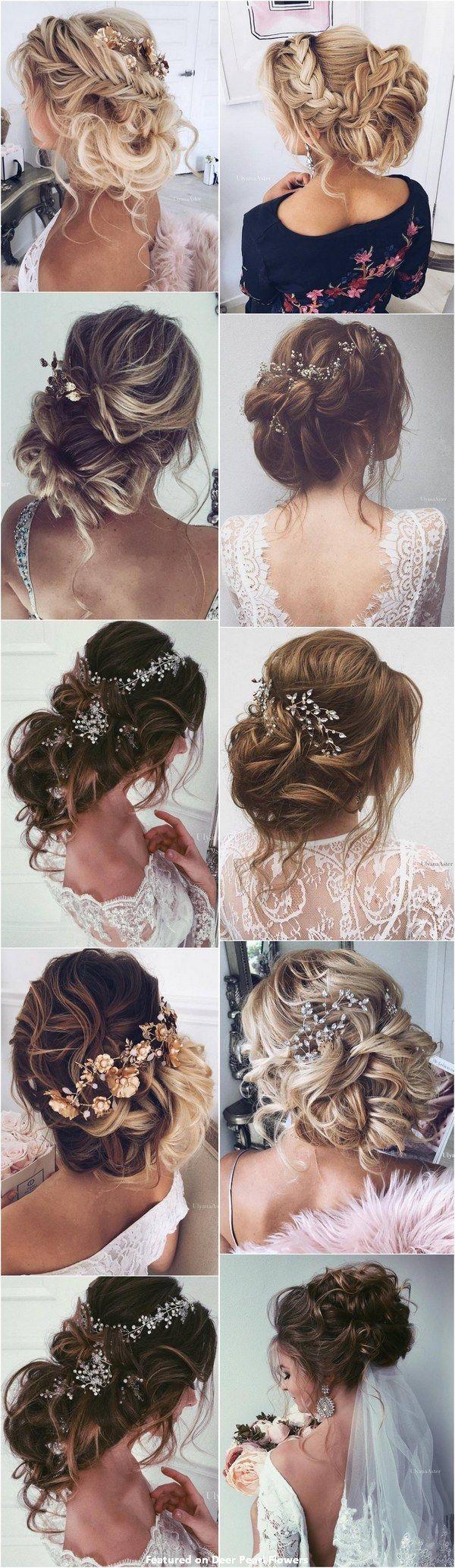 65 New Romantic Long Bridal Wedding Hairstyles to Try / Ulyana Aster www.ulyanaa...