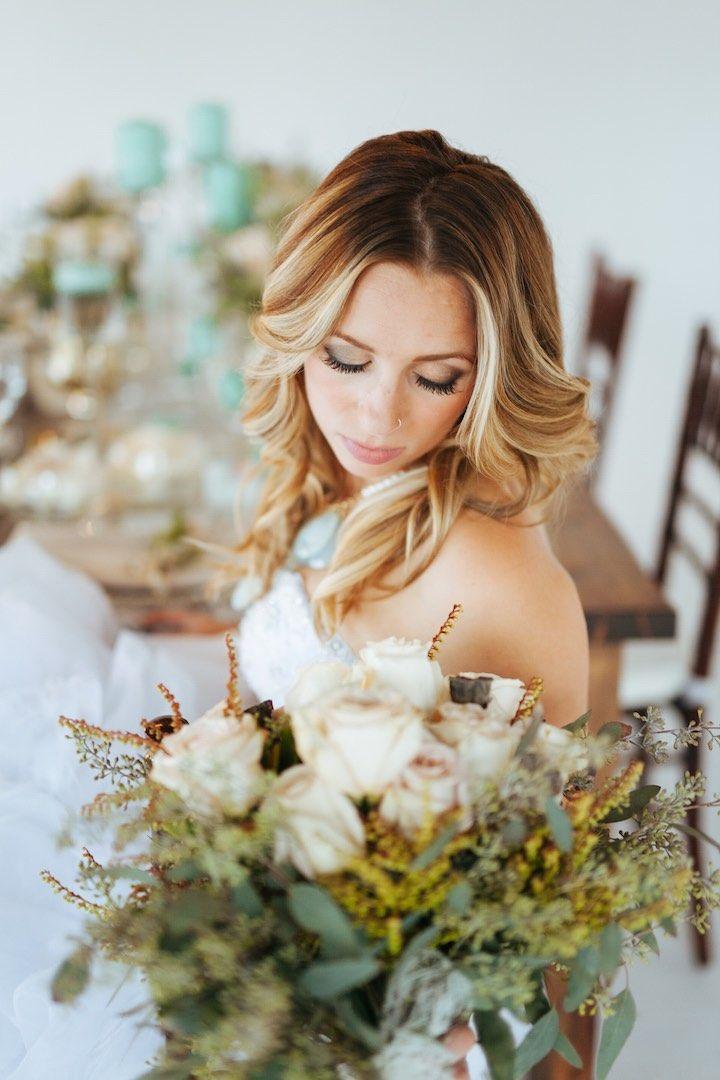 Featured Photographer:Cojo Photo; wedding hairstyle idea