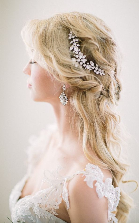 Featured Photographer: Retrospect Images; wedding hairstyle idea