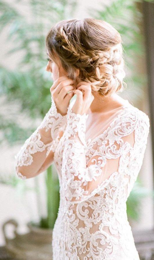 Featured Photographer: Tamara Gruner Photography; wedding dress and hairstyle id...