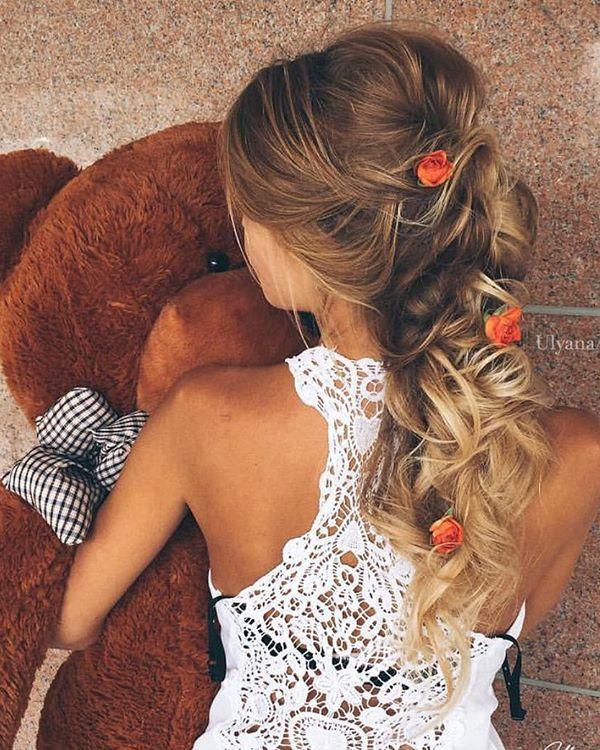Ulyana Aster Long Bridal Hairstyles for Wedding_15 ❤️ See More: www.deerpear...