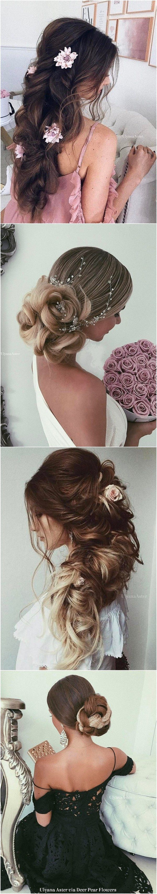 Ulyana Aster Long Wedding Hairstyles Inspiration - www.ulyanaaster.com | Deer Pe...