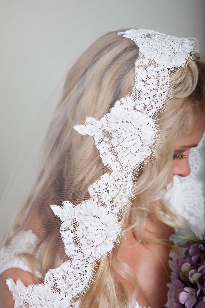 Featured Veil: Blanca Veils; Wedding veil idea