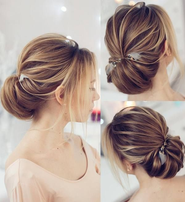 Wedding Hairstyles for Long Hair form Tonyastylist | Deer Pearl Flowers / www.de...