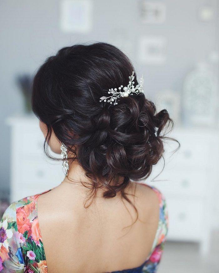 Messy wedding hair updos | itakeyou.co.uk #weddinghair #weddingupdo #weddinghair...