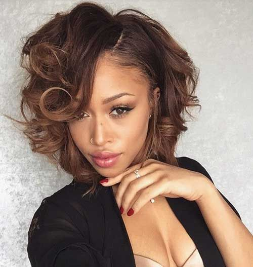 20 Cute Bob Hairstyles For Black Women | Latest Bob HairStyles | Page 2