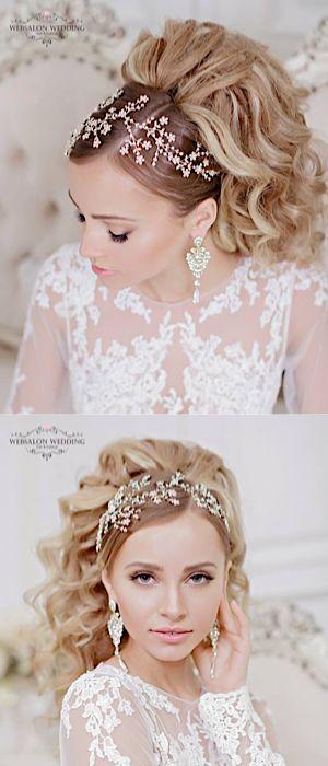 Featured Hairstyle: Websalon Wedding, Anna Komarova; www.websalon.su; Featured P...