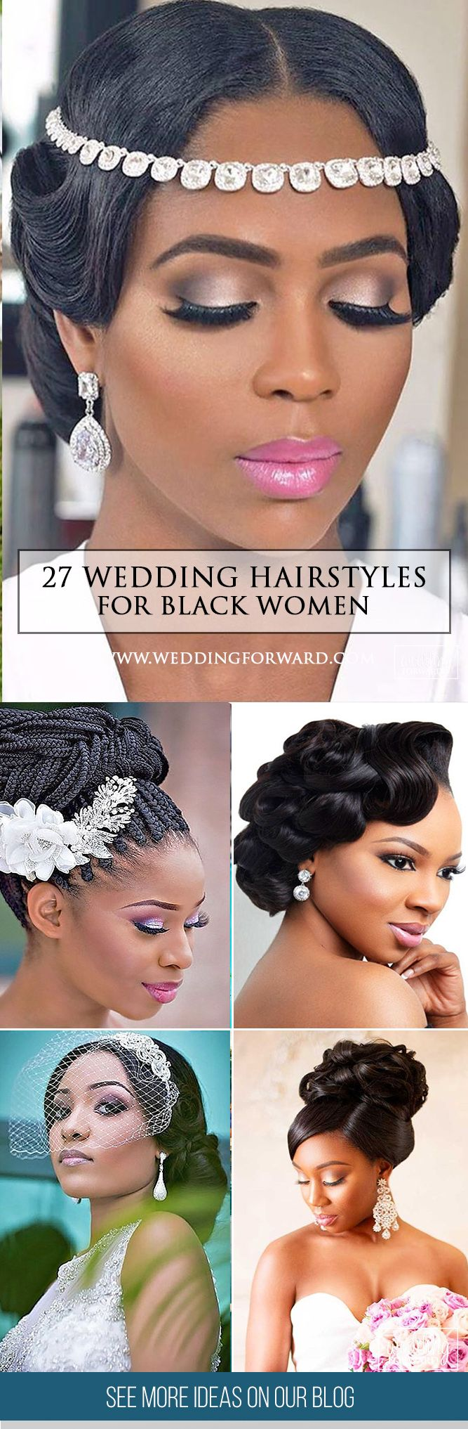 27 Black Women Wedding Hairstyles ❤  It is not a difficult task to pick the su...