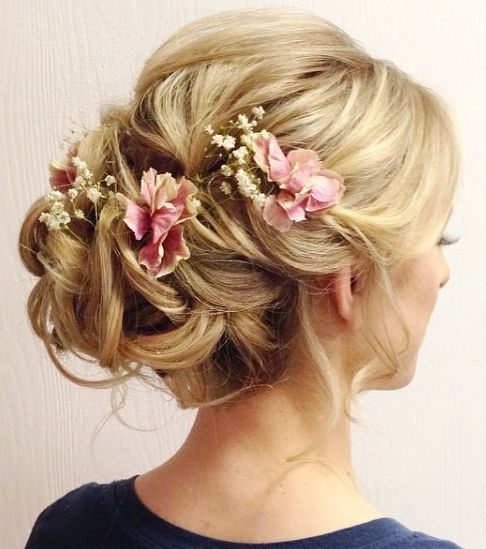 Featured Hairstyle: Heidi Marie (Garrett); hairandmakeupgirl...; Wedding hairsty...