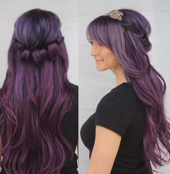 Featured Hairstyle: Heidi Marie (Garrett); hairandmakeupgirl...; Wedding hairsty...