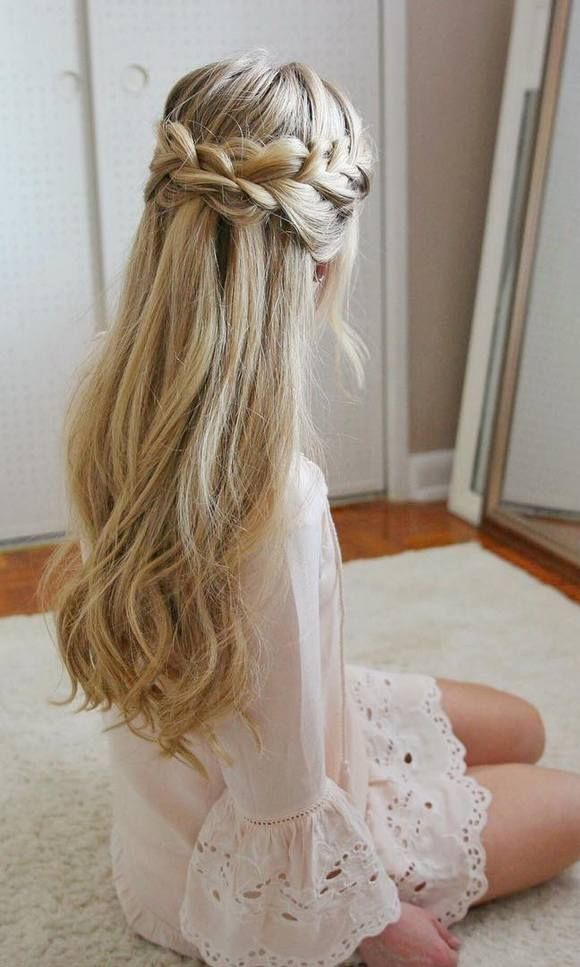 Wedding Hairstyles Long Wedding Prom Hairstyles Via Missysueblog