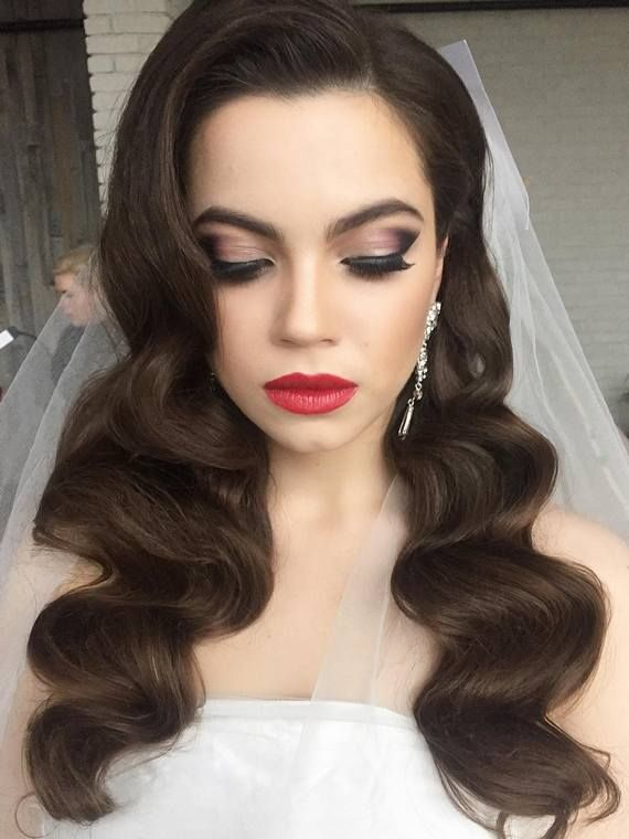 Gallery: Long wedding hairstyles and wedding updos from Websalon Weddings - Deer...