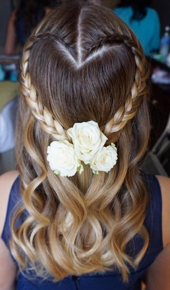 Featured Hairstyle: Heidi Marie Garrett of Hair and Makeup Girl; Wedding hairsty...