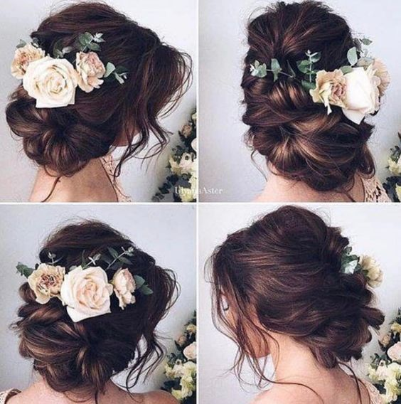 Wedding Hairstyles Featured Hairstyle Ulyana Aster Wedding