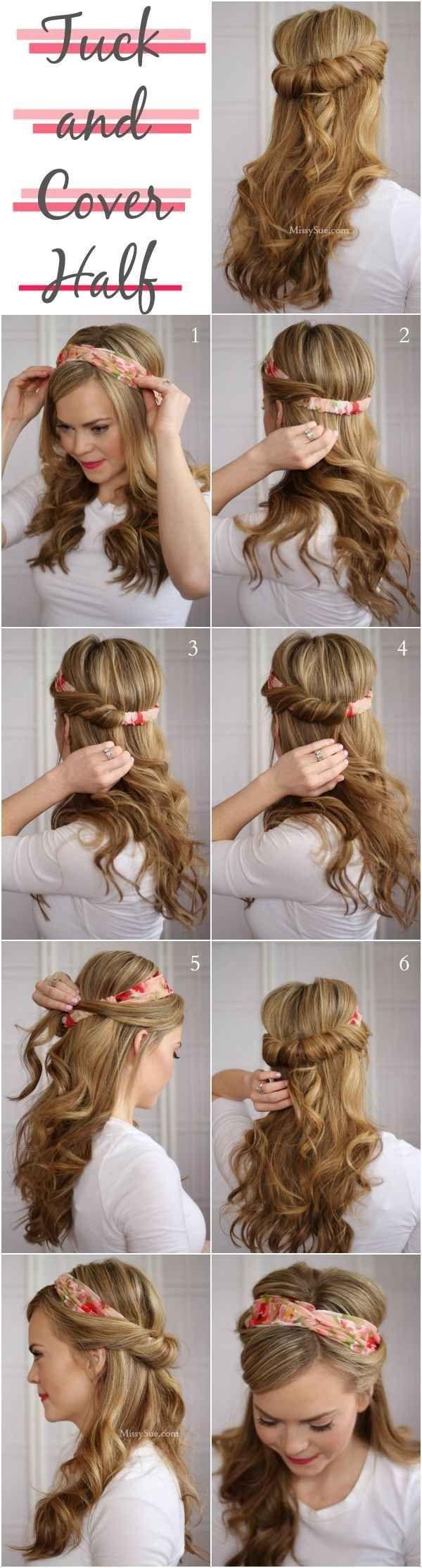 10 Stylish Hair Tutorials for Summer   Latest Bob HairStyles