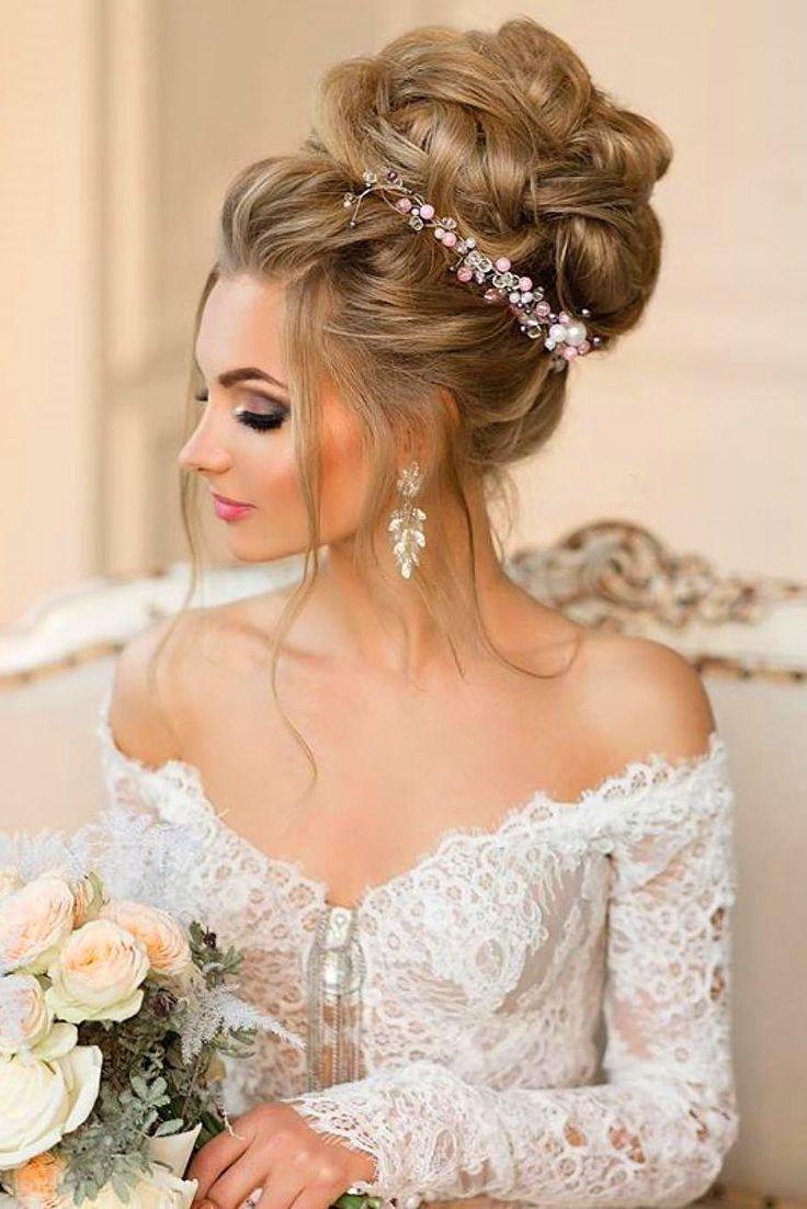 Bridal Hairstyles 18 Gorgeous Wedding Bun Hairstyles See More