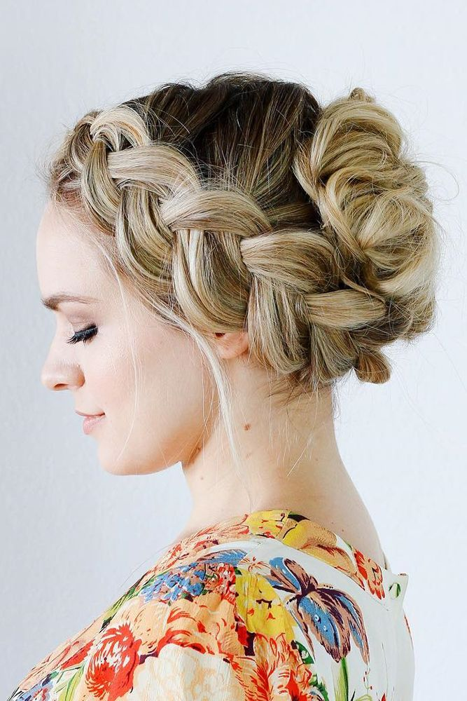 30 Hottest Bridesmaids Hairstyles For Short & Long Hair ❤ See more: www.weddin...