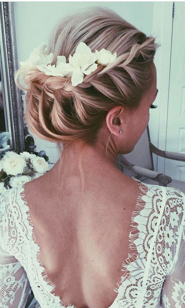 Bridal Hairstyles 30 Wedding Hairstyles Romantic Bridal Updos
