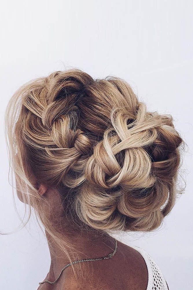 Gallery: braided wedding hairstyle ideas via ulyana aster - Deer Pearl Flowers /...