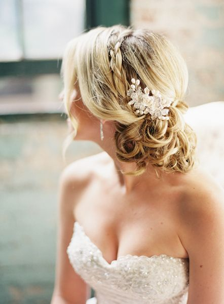Braided Bridal Updo | photography by judypak.com