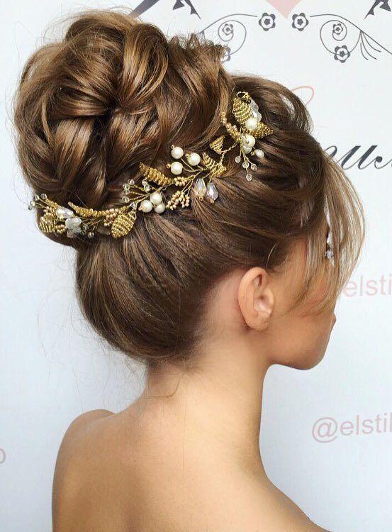 Elstile wedding hairstyles for long hair 49 - Deer Pearl Flowers / www.deerpearl...
