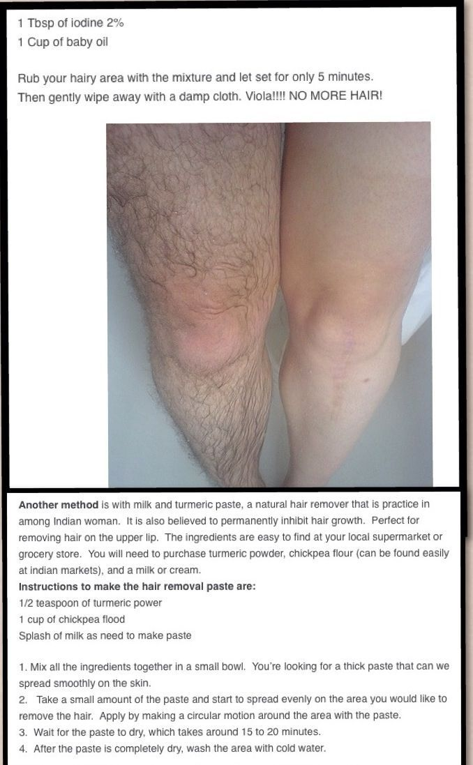 Natural hair removal! this picture freaks me out but wharves. does anyone know i...