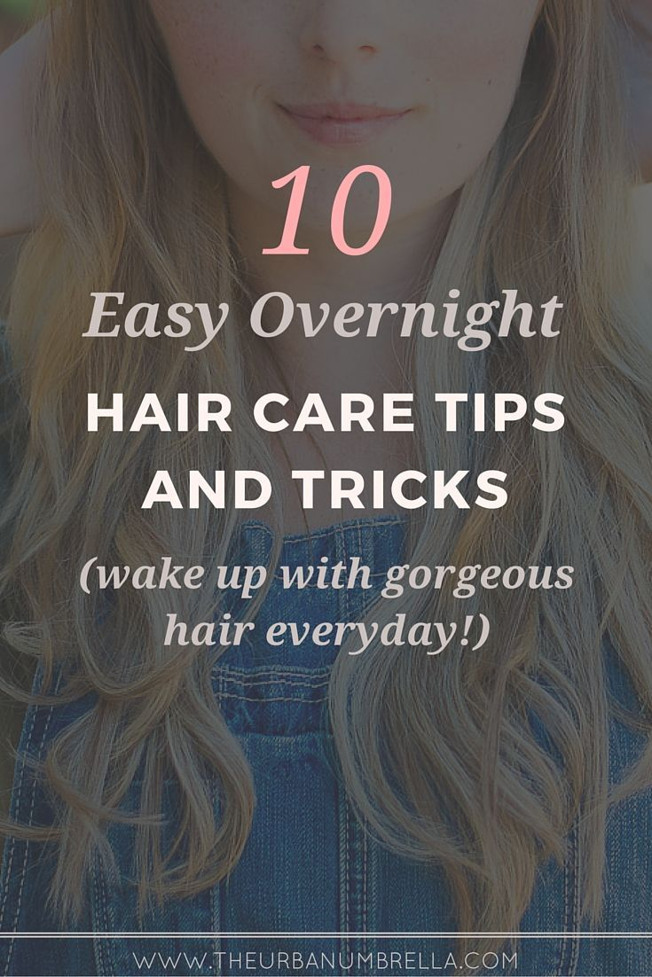 Overnight Hair Care Tricks | Want to wake with gorgeous hair EVERY SINGLE DAY!? ...