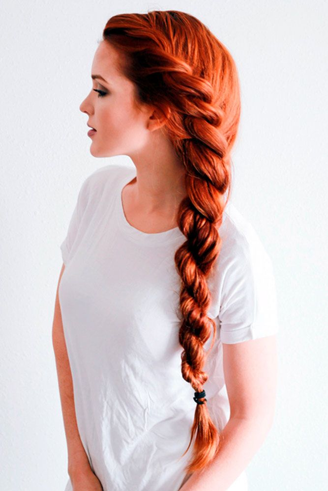 Rope braid is really multi-faceted and it looks special! See variations of impre...