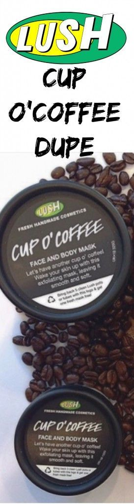 This Lush Cup O'Coffee Dupe is the REAL deal! Currently obsessed with this s...