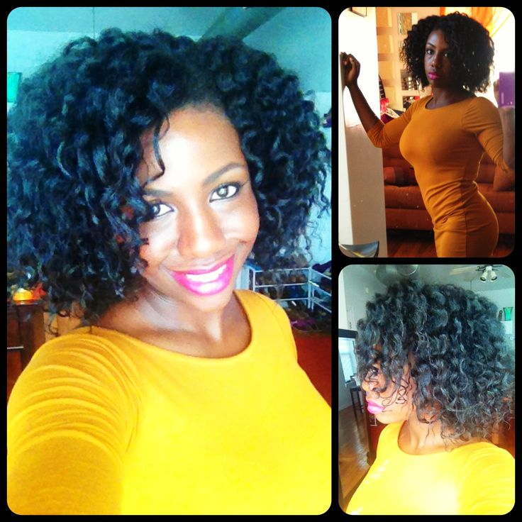 Flat Twist Out Tutorial on 4a 4b 4c Natural Transititioning Hair