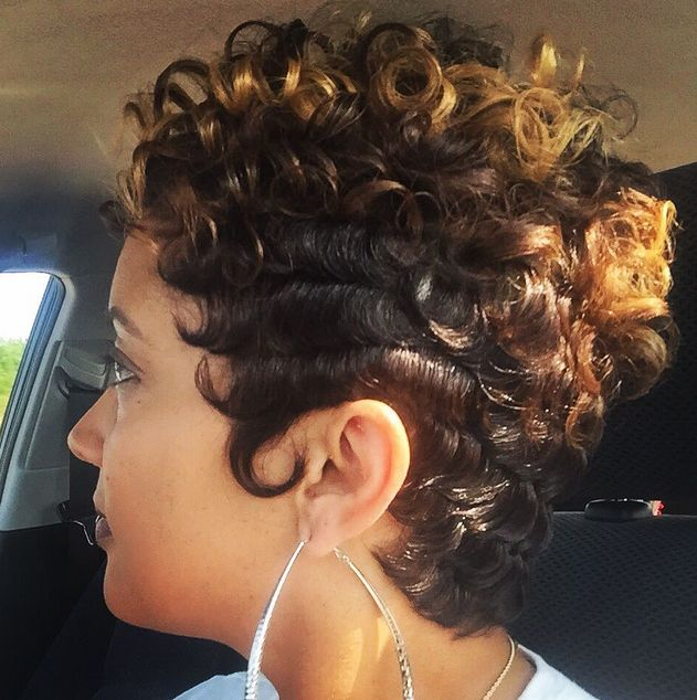 Lovely curlies @easha_1nolastylist - community.blackha...