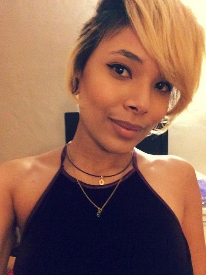 Short Blonde Hair Style Shared By Mike7909090 - www.blackhairinfo...