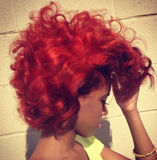 The Color Is Fire... Literally! - www.blackhairinfo...
