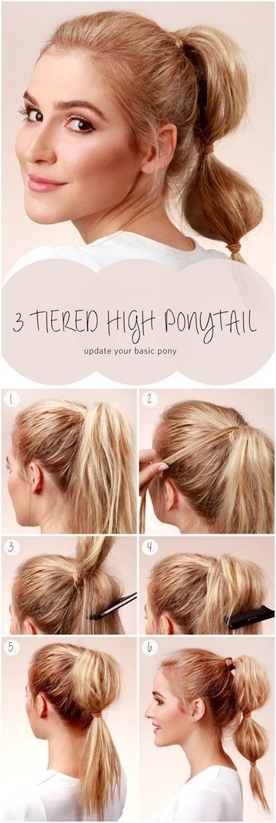 10 Ways to Make Cute Everyday Hairstyles: Long Hair Tutorials