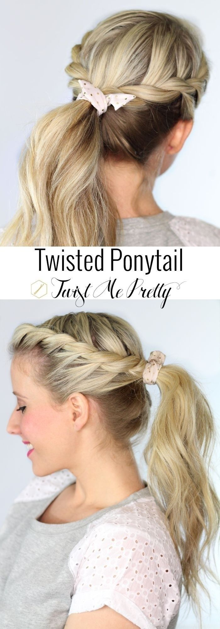 22 Great Ponytail Hairstyles for Girls