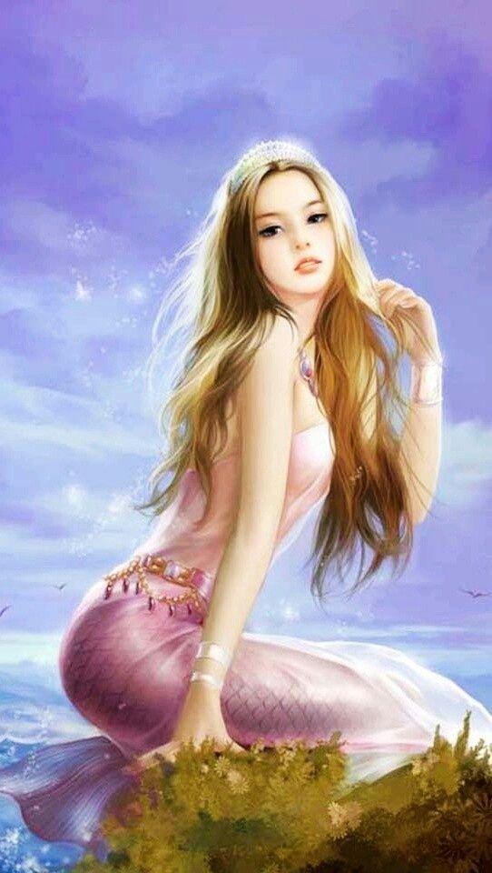 Fascinating Golden Curls for Romantic Women