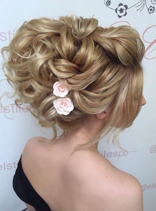 Elstile wedding hairstyles for long hair 44 - Deer Pearl Flowers / www.deerpearl...