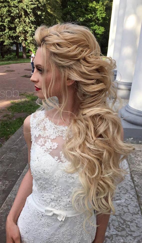 Elstile wedding hairstyles for long hair 50 - Deer Pearl Flowers / www.deerpearl...