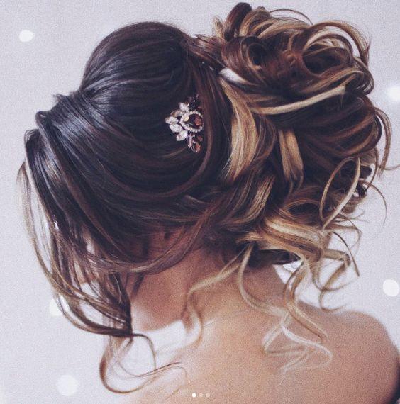 Featured Hairstyle: tonyastylist (Tonya Pushkareva) www.instagram.com...; Weddin...