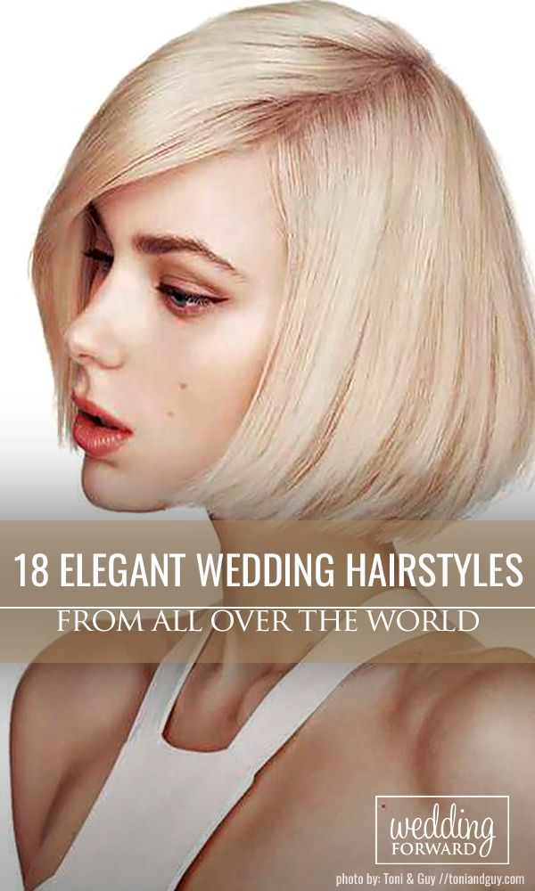 18 Elegant Wedding Hairstyles From All Over The World ❤Mason jars wedding cent...