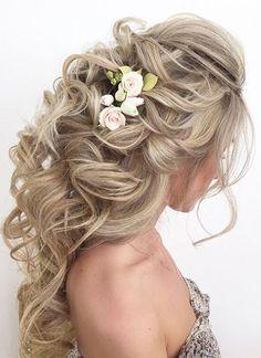 Elstile wedding hairstyles for long hair 18 - Deer Pearl Flowers / www.deerpearl...