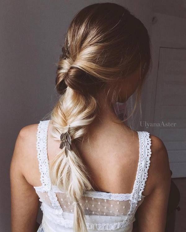 Ulyana Aster Long Bridal Hairstyles for Wedding_17 ❤️ See More: www.deerpear...